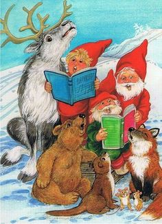 fete noel vintage gifs images - Page 7 Christmas Artwork, Christmas Photos, Vintage Christmas, Merry Christmas, David The Gnome, Winter Fairy, Elves And Fairies, Snow Scenes, Gif Animé