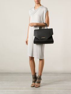 Givenchy Obsedia Large Tote in Black | Lyst