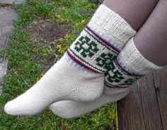 Latvian traditional  hand knitted white by peonijahandmadeshop, $40.00