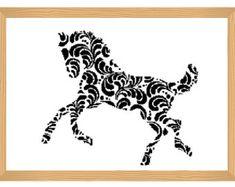 squirrel cross stitch pattern silhouette cross by ILoveMyDesigns
