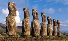 #Osterinsel #Moai Statuen #Mythos #culture #Kultur #Geschichte #Steinmänner
