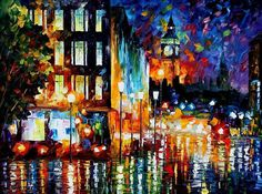 London's Lights by Leonid Afremov