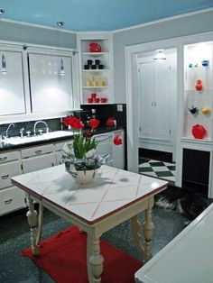 Innendesign Ideas Living Ideas Kitchen Retro Style (