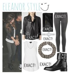 """""""Get The Look - Eleanor Calder / Niall's Birthday Party (Sep 06th, 2014)"""" by randomoutfitsandstyle ❤ liked on Polyvore featuring AllSaints, Marc by Marc Jacobs, Topshop, Yves Saint Laurent and Burberry"""