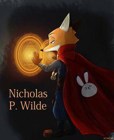 """""""어제 그린거 포토샵으로 수정...포토샵 어렵네요..(수정후/전)"""" #zootopia #nick #fox #fanart Zootopia Anime, Zootopia Comic, Zootopia Art, Nick Wilde, Disney Films, Disney And Dreamworks, All Animated Movies, Zootopia Nick And Judy, Fox Art"""