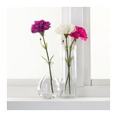 79c IKEA - SMYCKA, Artificial flower, Lifelike artificial flower that remain just as fresh-looking and beautiful year after year.You can bend and adjust the flower any way you want because of the steel wire in the stem.The stem can be shortened by means of cutting pliers.