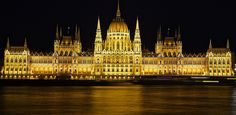 Budapest Parliament from the Buda side