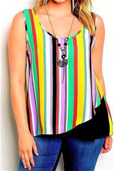 Eye Candy Women Plus Size 1x 3x Aztec Coral Black Swing Tunic Top Blouse Shirt