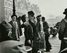 One of my favorites...Robert Doisneau