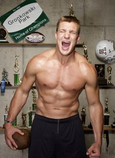 Rob Gronkowski (American Football) I've already pinned this idc favorite pic ever