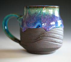 Large Coffee Mug, 18 oz, handmade ceramic cup, coffee cup.