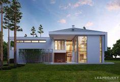 Projekt domu nowoczesnego LK&112. Modern house plan. House project.  #projekt #domu #dom #projektdomu #projektydomow #projektydomów #budowa #buduje #buduję #budujedom #budujędom #house #houseplan #plan #architecture #modernhouse #modern #project #houseproject #nowoczesnydom #domnowoczesny #nowoczesny