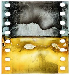Juxtapoz Magazine - Decomposed Nitrate Film Clippings from the Turconi Collection Photography Themes, Color Photography, Film Photography, Abstract Photography, Art Alevel, Experimental Photography, Nocturne, Book Art, Fine Art