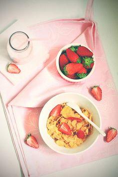 a strawberry kinda morning