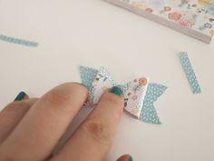 diy: lazos de papel | milowcostblog♥
