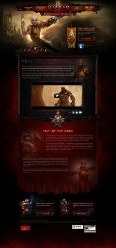 Diablo III - http://reveal.diablo3.com/en_US/