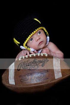 Baby's first MIZZOU Helmet!!!