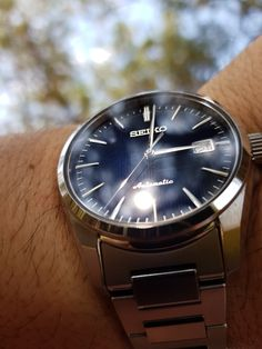 My Seiko Presage SARX045 in Crete Greece