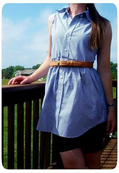 DIY Clothes DIY Refashion DIY Men's Shirt to Women's Blouse