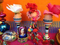 6 dekoracje wielkanocne pisanki swiateczny stol etno easter decorating easter eggs holiday table setting mexican easter ethnic boho folk styling