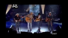 "Because once is never enough, and there's nothing like a good old Country Boy.    Alan Jackson ((With George, Dirk, & Brad)) -  ""Country Boy"""