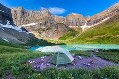Hike to Cracker Lake, Montana