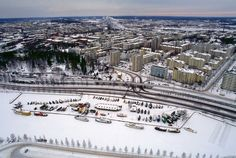 Tampere, Finnland. Together with Anchorage, the most northern point I've been so far. Both are on Latitude 61.