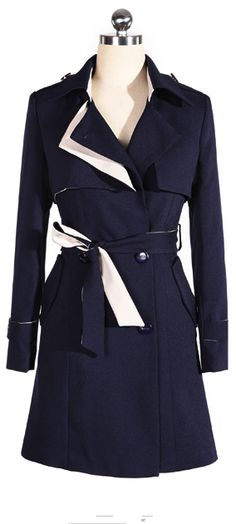 #navy #trenchcoat
