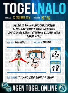 4D Jitu Togel Wap Online Live Draw 4D TogelNalo Medan 22 Desember 2016