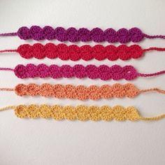 Headband au crochet