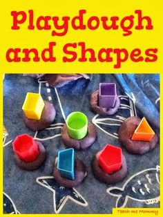 Playdough and Shapes