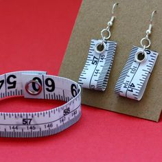 tape measure jewelry, I hope they don't try making tape measure belts!