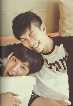 j-hope & rap mon ~ #bts I love this pic from my bts in Thailand package. It literally is my most prized bts possession i own.