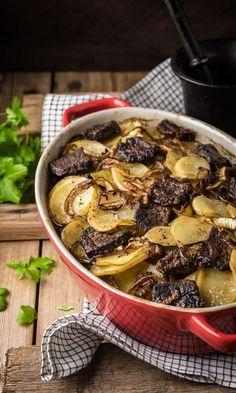 Merimiespihvit | Maku No Salt Recipes, Pork Recipes, Cooking Recipes, Recipies, Tasty, Yummy Food, Pot Roast, Love Food, Food To Make