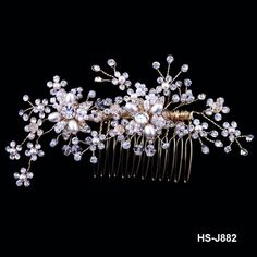 Hair comb for wedding and party
