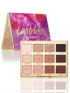 Got this beautiful palette at IMATS LA 2016 can't wait to use this Tartelette In Bloom palette