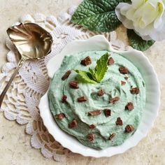 Casey's Wholesome Kitchen: Peppermint Swirl Mousse