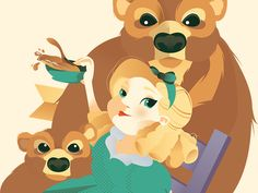 Goldilocks and the Three Bears by Julia