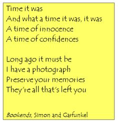 Bookends, Simon & Garfunkel