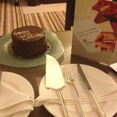 The best chocolate mousse cake ever! Grand Millennium Hotel, Dubai