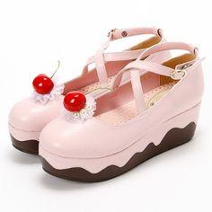 dessert shoes by queen bee