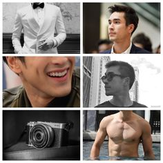 nadech moodboard Best Thai, Celebrity Couples, Taylor Swift, Crushes, Actors, Photo And Video, Celebrities, Girls, Movie Posters