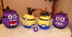 The Beach Bird Boutique Blogs! : How To: Despicable Me 2 Minion Pumpkins
