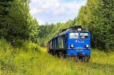 """Duet """"gagarinów"""" LHS na szlaku między terminalami przeładunkowymi w Sławkowie. (fot.: Hubert Matysiak, 2016 rok; kolzwer205)"""