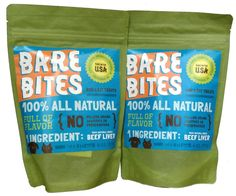 Bare Bites 100% All Natural Dried Beef Liver Dog and Cat Treats - (2 Pack of 6 Ounces Bags) >>> Trust me, this is great! Click the image. : Dog treats
