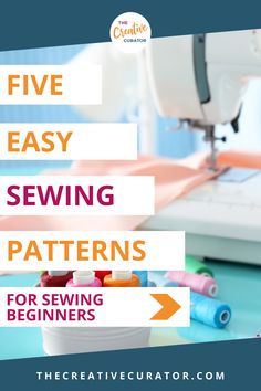 These five easy and free sewing patterns for sewing beginners will help anyone learning to sew get better at sewing! Easy patterns are essential when learning to sew, and these five sewing patterns for beginners are the top! Easy Sewing Patterns, Bag Patterns To Sew, Easy Sewing Projects, Sewing Hacks, Sewing Tips, Sewing For Beginners Tutorials, Pattern Drafting, Fabric Manipulation, Learn To Sew