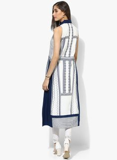 Buy W White Printed Kurta for Women Online India, Best Prices, Reviews | XW574WA79IFCINDFAS
