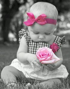 Precious Girl ~ Splash of Pink