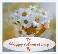Happy Anniversary Happy Anniversary Wedding, One Month Anniversary, Happy Anniversary Quotes, Anniversary Flowers, Anniversary Cards, Happy Birthday Sister, Happy Birthday Funny, Happy Birthday Images, Happy Birthday Cards