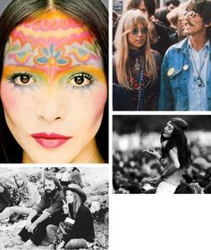 1970s hair and makeup  Love all this